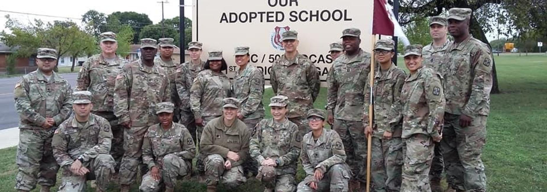 our adopted military unit