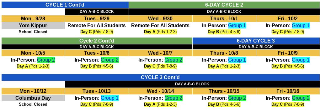 Schedule Students
