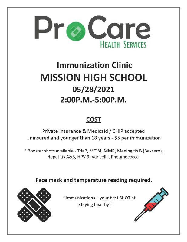 MHS Immunization Clinic for Seniors-Meningitis Vaccine Featured Photo