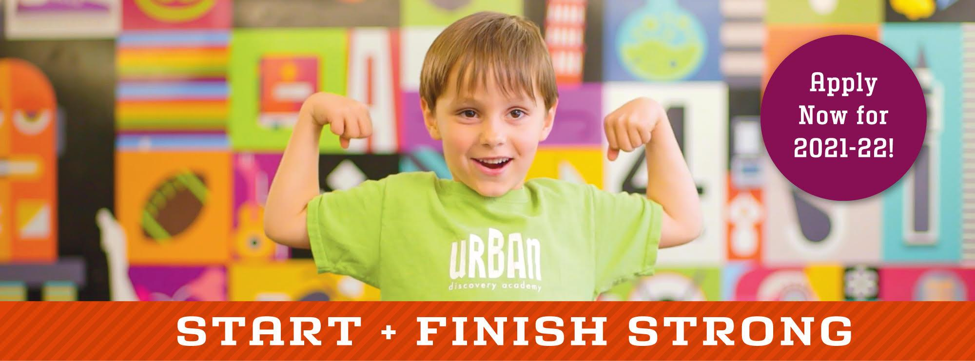 Start + Finish Strong with Urban Discovery Schools