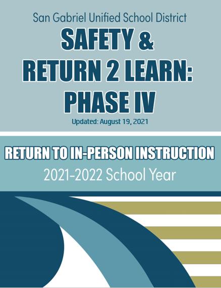 Return 2 Learn Phase IV