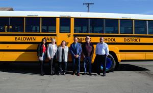 Baldwin Park Unified is adding five electric, zero-emission buses to its lineup, with the first two arriving on Dec. 20.