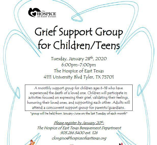 Grief Support Group for Children/Teens Featured Photo