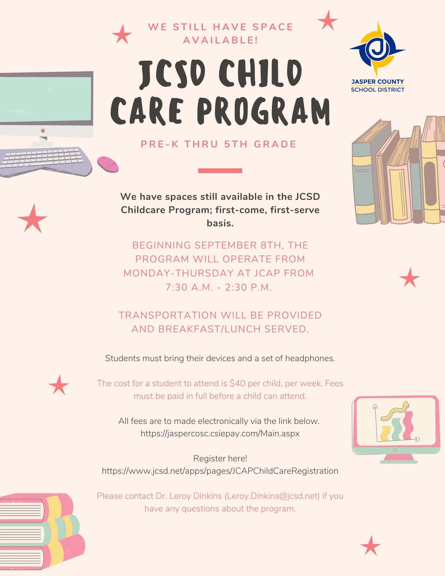 JCSD Child Care Program