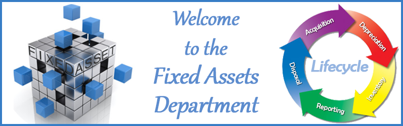 Fixed Assets Department
