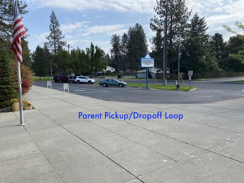 Parent loop pick up and drop off