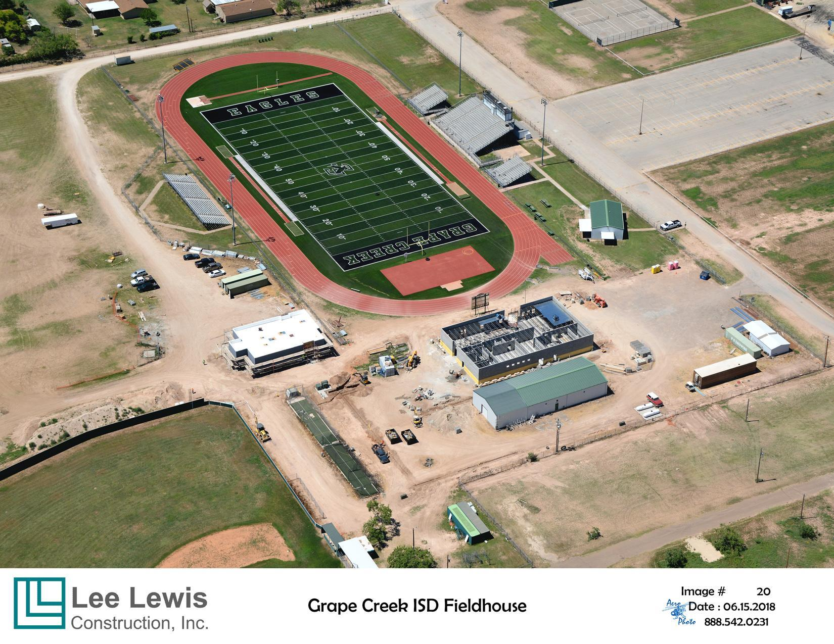 Aerial photo Girls Athletic Facility