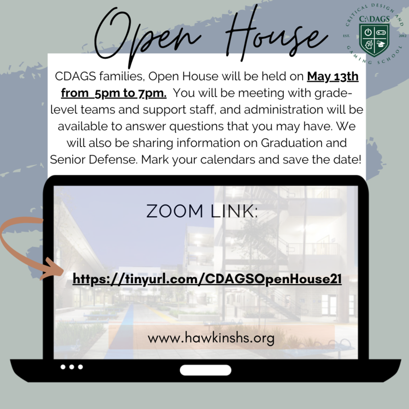 C:\DAGS Open House on Thursday, May 13th Featured Photo