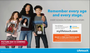 Lifetouch 8 x 8 Book offer from Shutterfly for school picture day