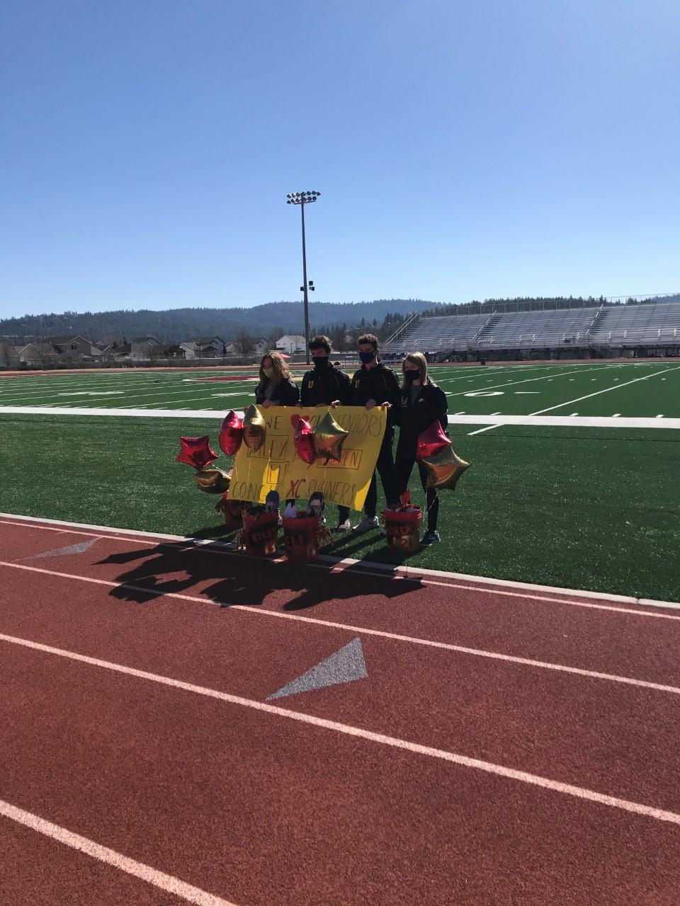 Senior CC runners