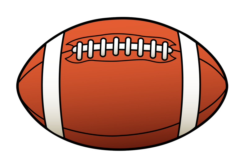 clip art of a football