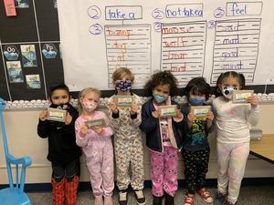 Dr. Seuss contest winners