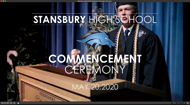 Stansbury High School 2020 Graduation Video Thumbnail Image