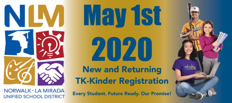 New Student Registration For 2020-2021 Featured Photo