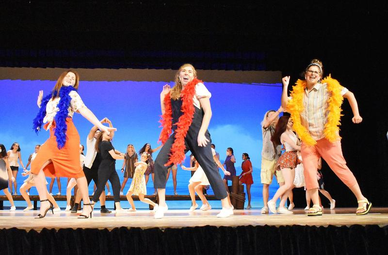Mars Area High School students perform Mamma Mia!
