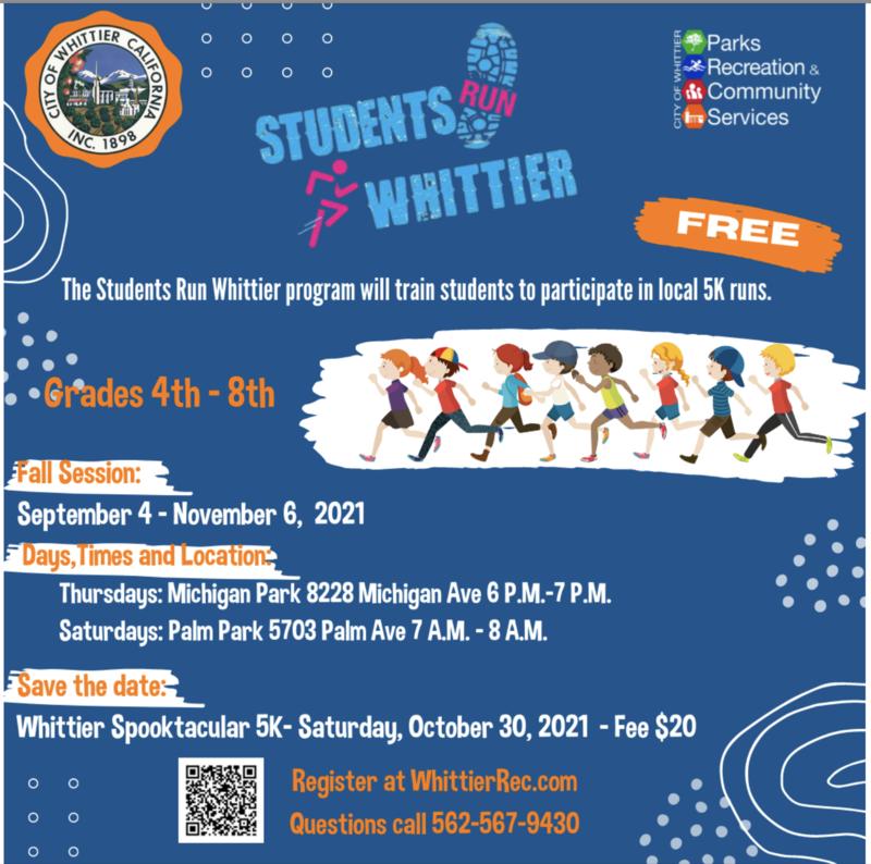 English Students Run Whittier Flyer