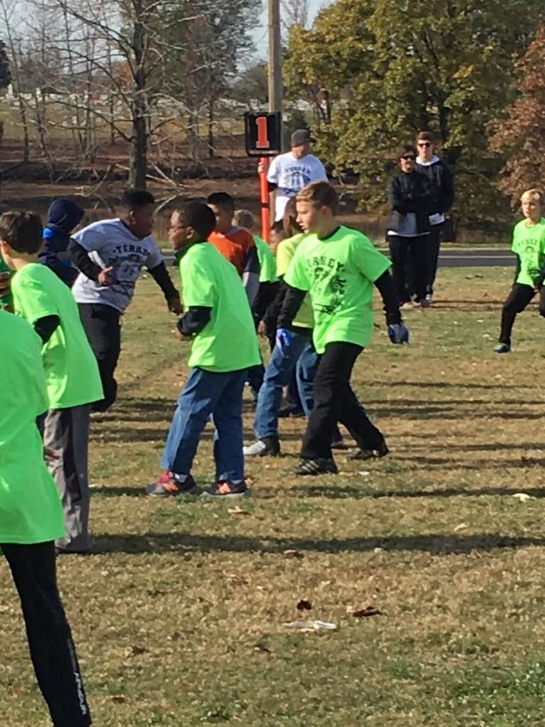Armstrong vs. Coon in Turkey Bowl 2017.