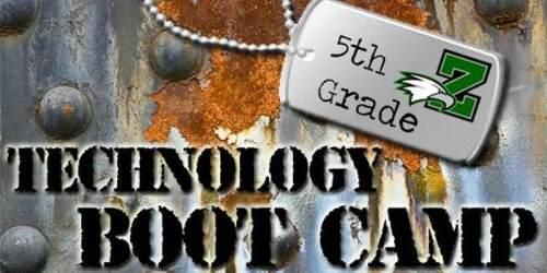 5th Grade Tech Boot Camp Registration Thumbnail Image