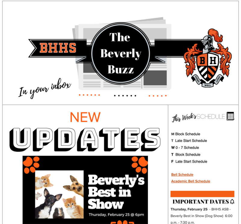 BHHS Newsletter - The Beverly Buzz - Feb. 24, 2021