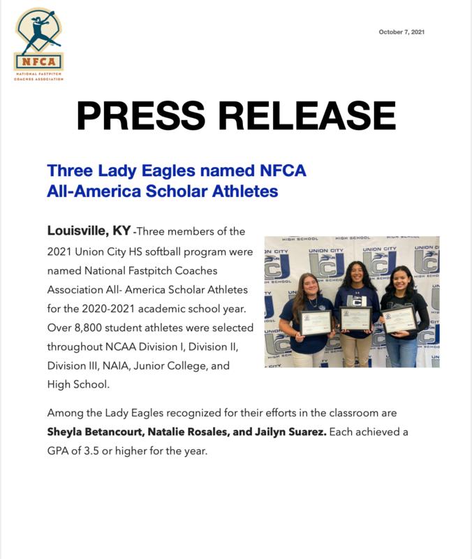 NFCA press release