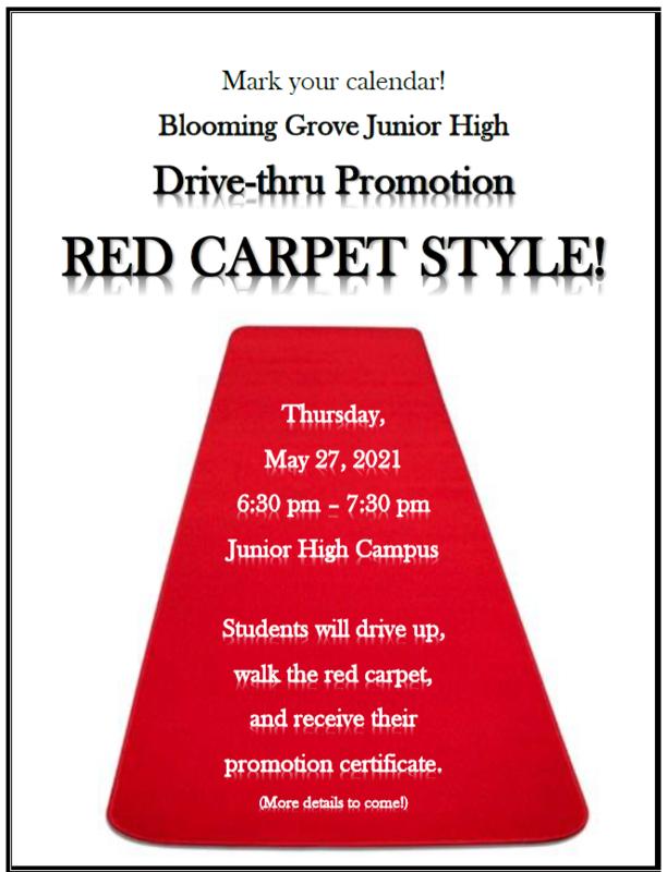 8th Grade Drive-Thru Promotion Thumbnail Image