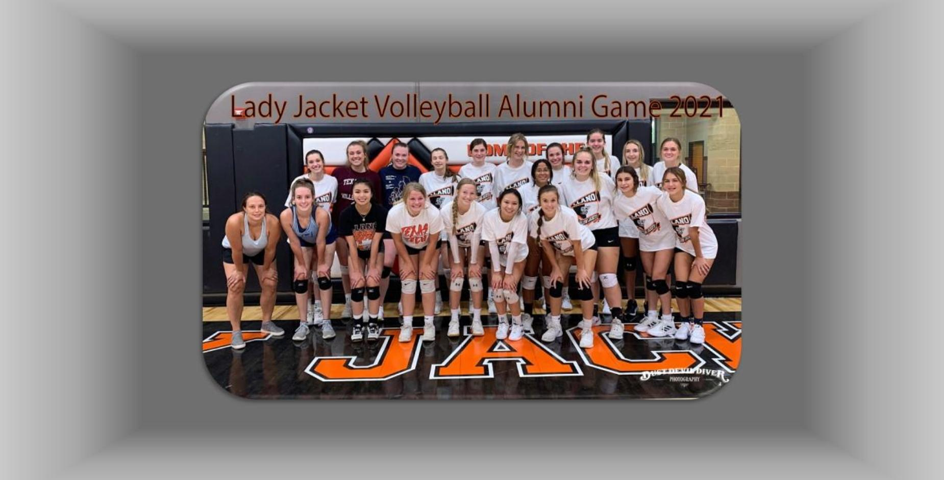 Volleyball Alumni Game Picture