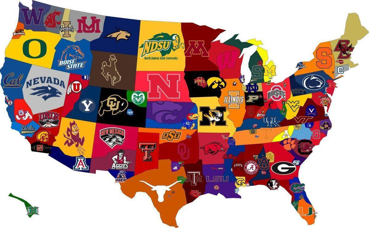 map of colleges