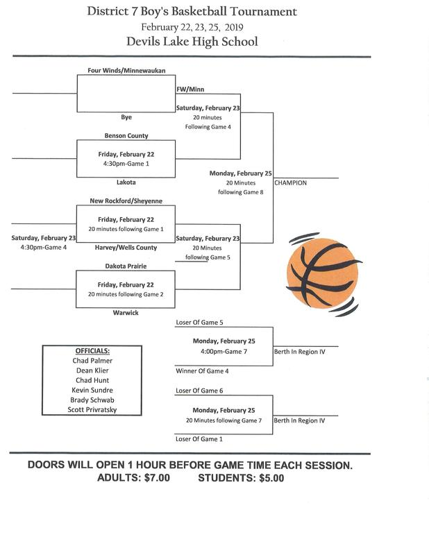 Boys Basketball District Tournament