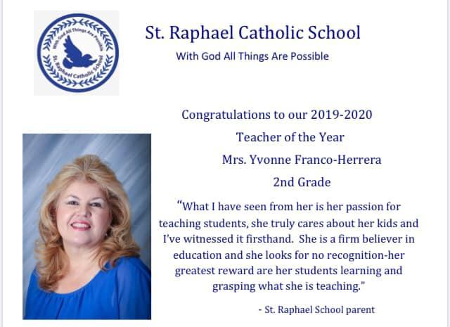 Congratulations to Our Wonderful Teacher! Featured Photo