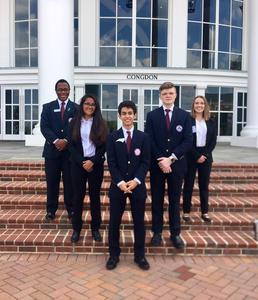 Regional HOSA officers