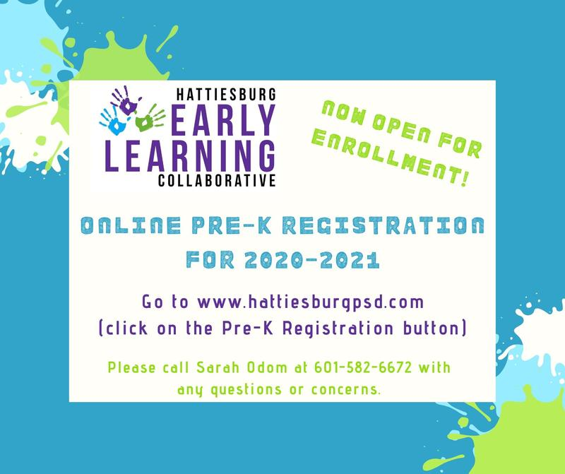 Online Pre-K Registration for 2020-2021 Featured Photo