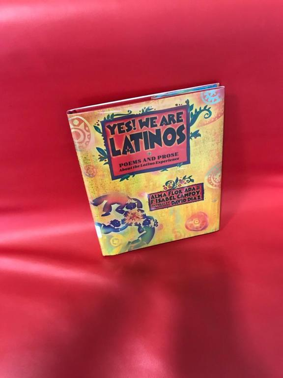 Yes we are latinos book on display