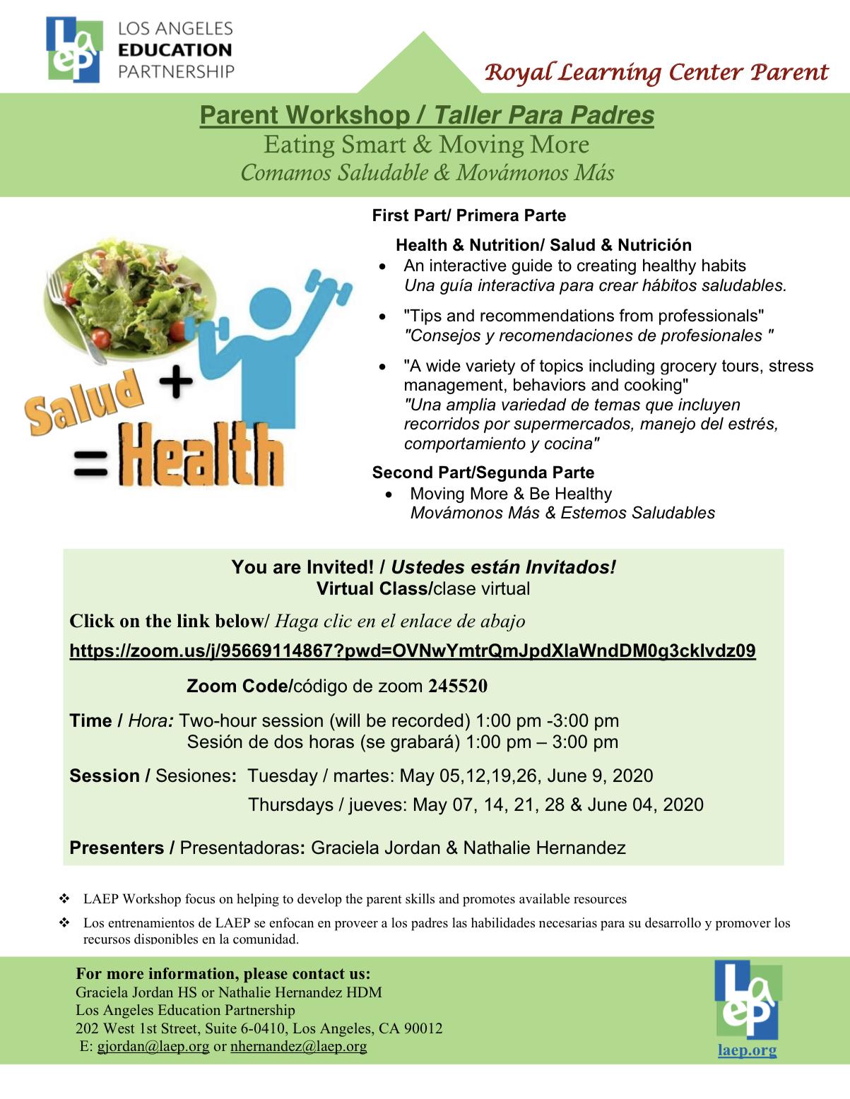 parent health classes