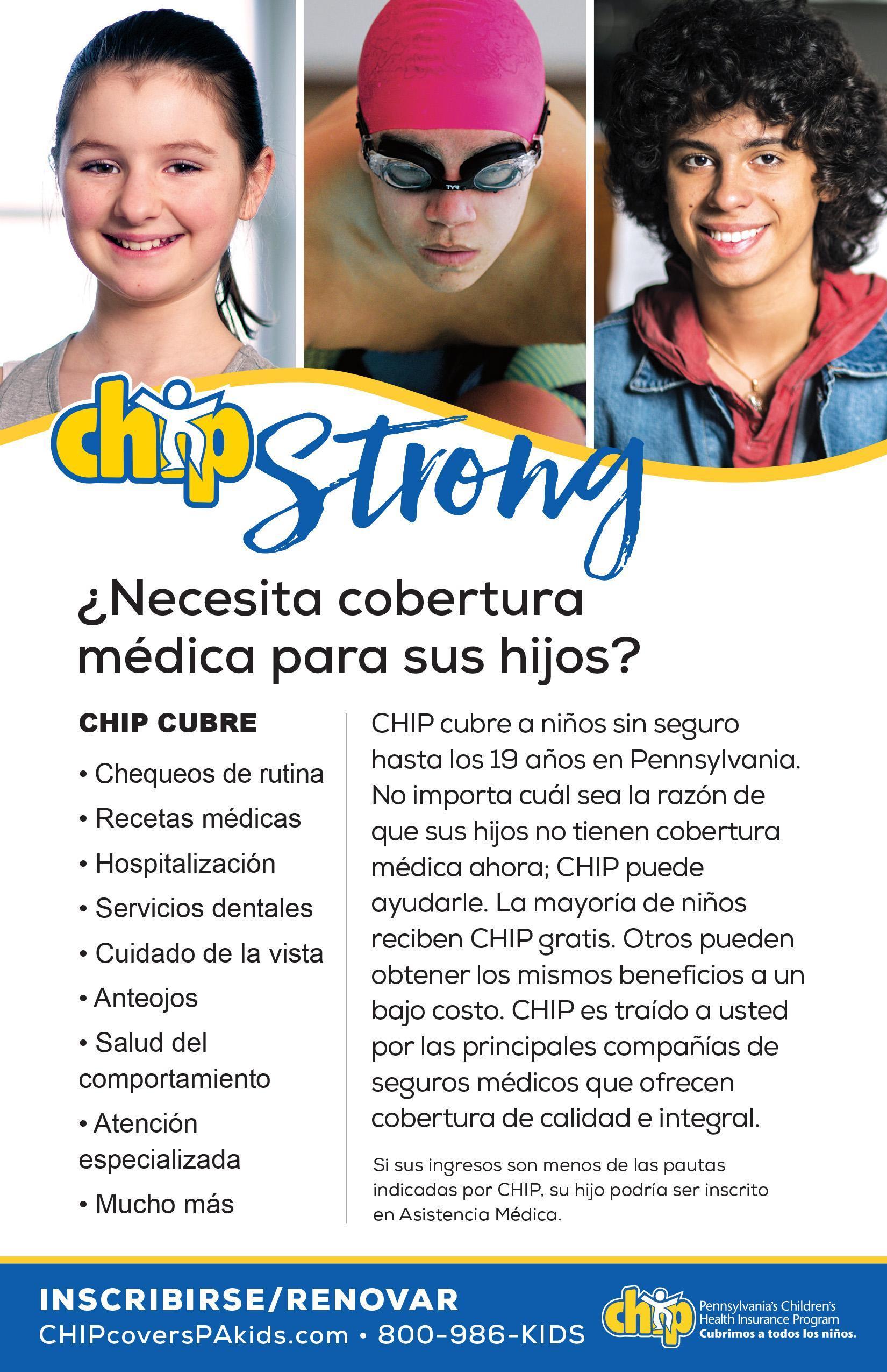 Children's Health Insurance Program flyer (Spanish)