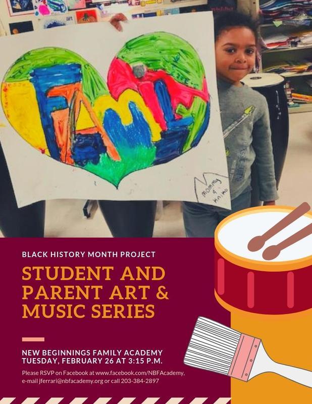 Student & Parent Art & Music Series