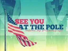 See You at the Pole Day is on Wednesday, September 26, at 7:30. Featured Photo