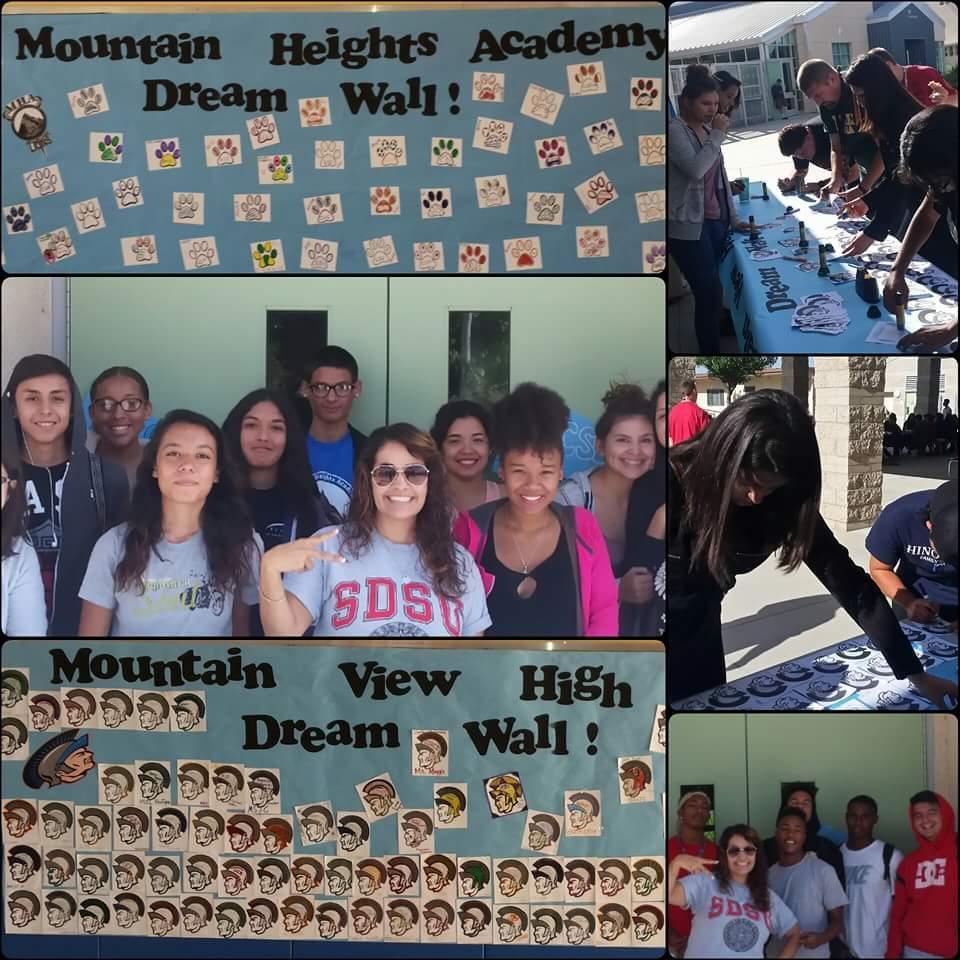 Mountain Heights Academy Dream Wall