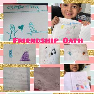 Friendship Oath collage