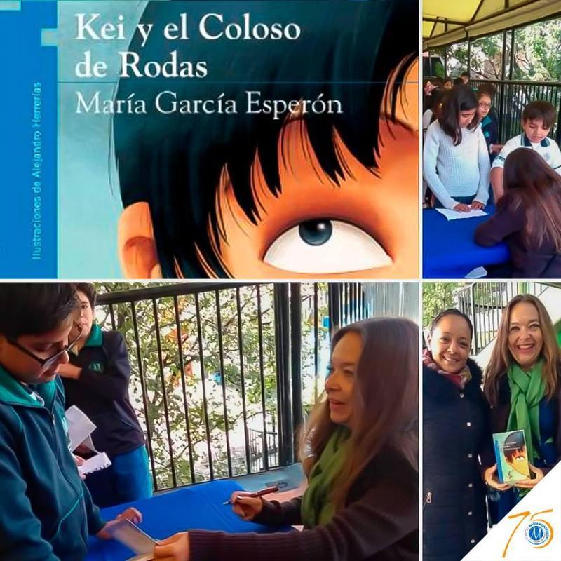 Visita de la escritora María García Esperón Featured Photo