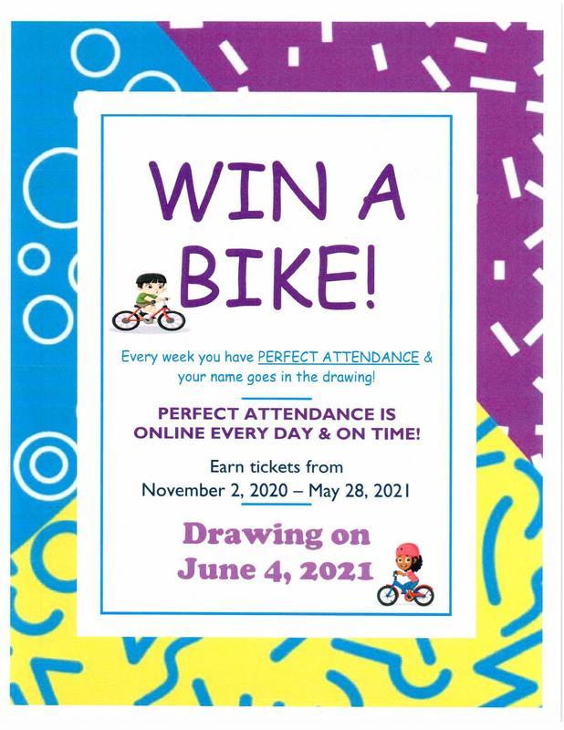 Win A Bike! Attendance Incentive Featured Photo