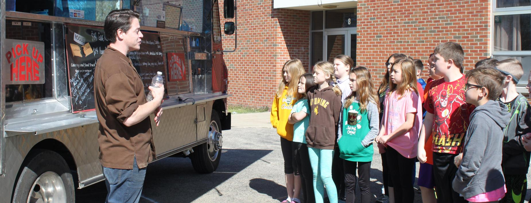 Career Day at CCIS - the Food Truck business