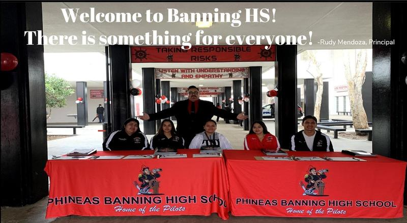 Class of 2025 - Welcome to Banning HS!  There is something for everyone! Featured Photo