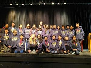 Science Olympiad Team Group Photograph.