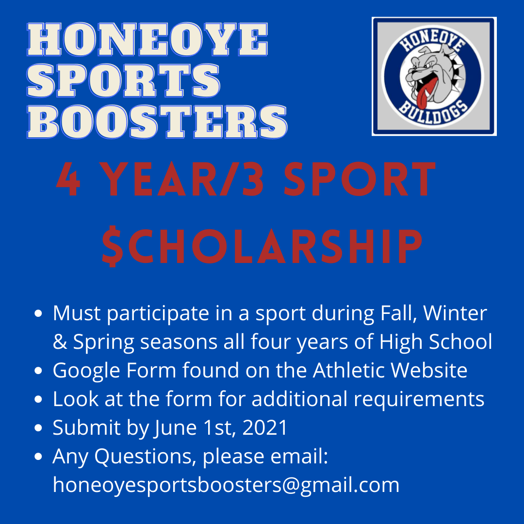 Boosters Scholarship