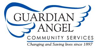 Clip art of Guardian Angel