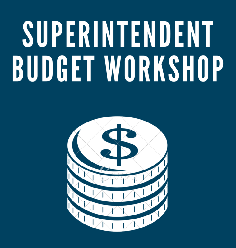 Superintendent Budget Workshop Image