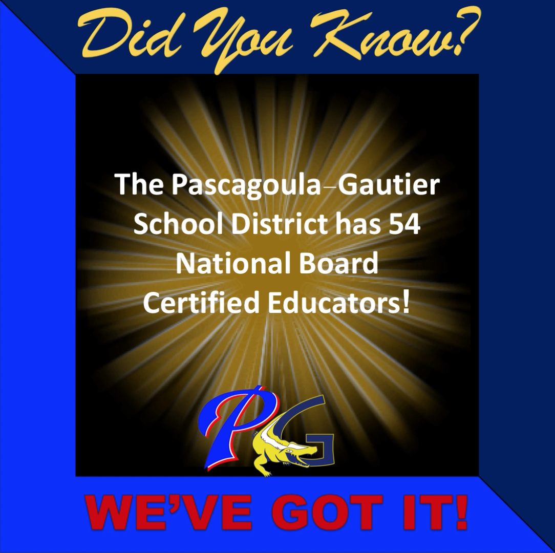 Did you know PGSD has 54 National Board Certified Educators