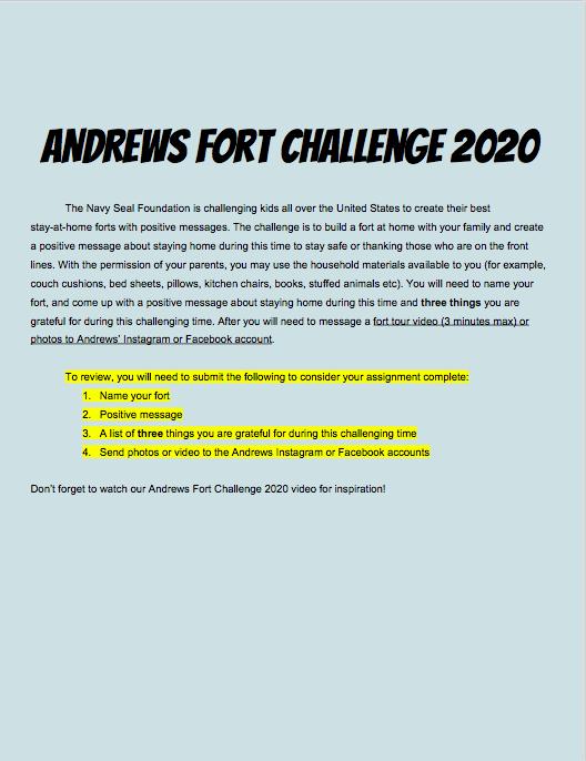 Screenshot of Fort Challenge 2020