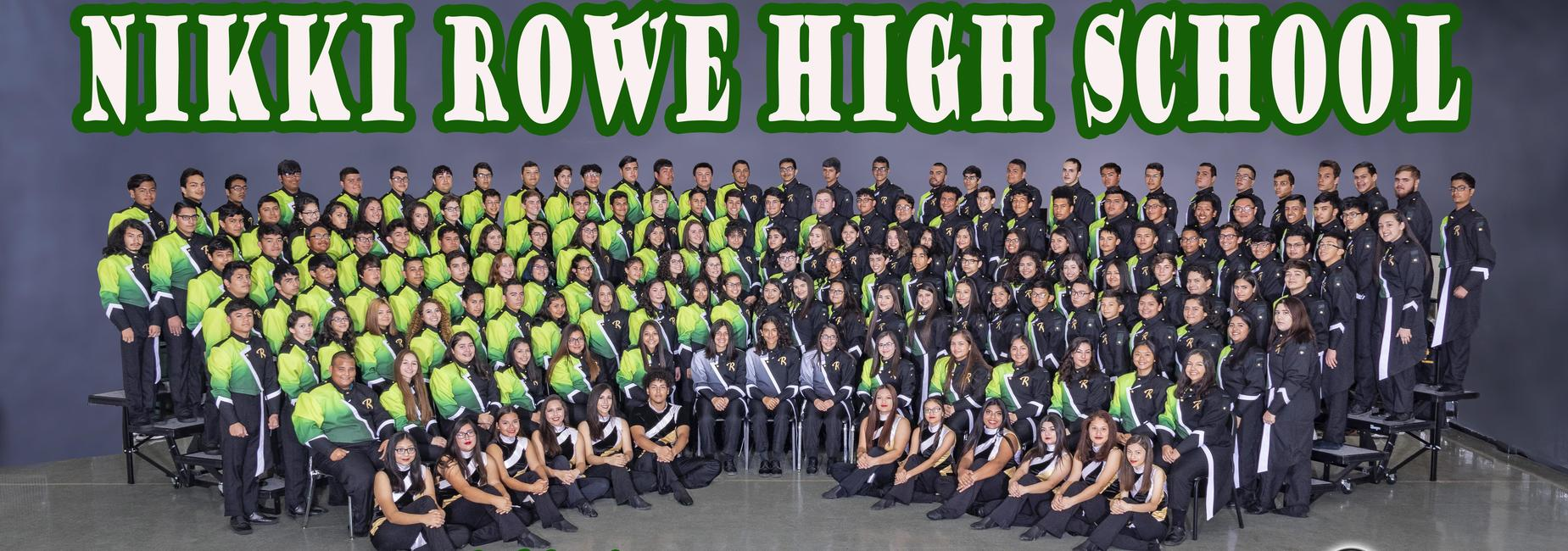 2018-2019 Nikki Rowe High School Warrior Band
