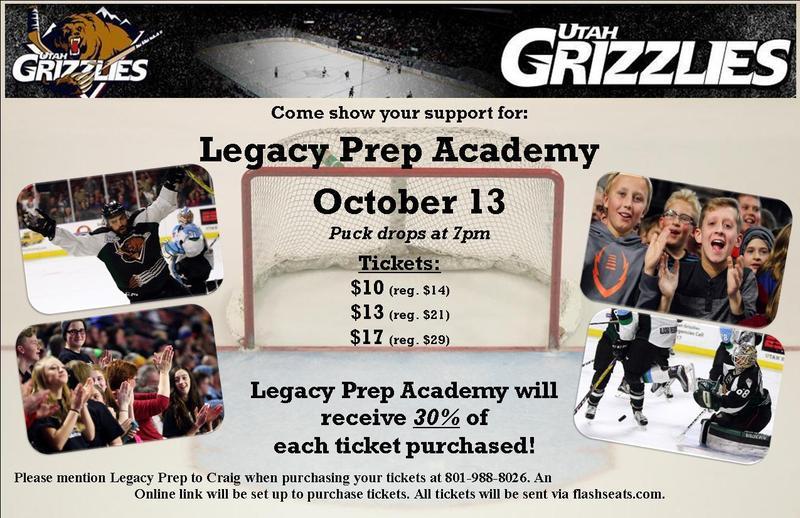 Utah Grizzlies Spirit Night!! Featured Photo